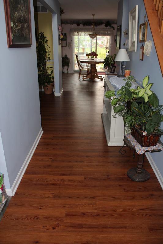 Luxury Vinyl Tile In Brownstown MI Jabro Carpet One Floor Home - Is vinyl plank flooring scratch resistant