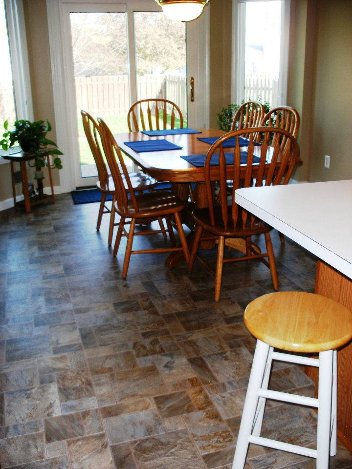 floor linoleum for kitchens vinyl installed in woodhaven mi jabro carpet one floor 7248