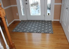 Stair carpet and Custom Rug Installed
