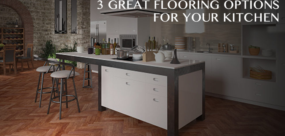 3 Great Flooring Options For Your Kitchen Jabro Carpet One Floor