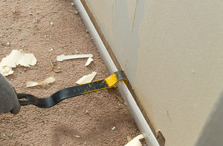 How To Properly Remove Baseboards